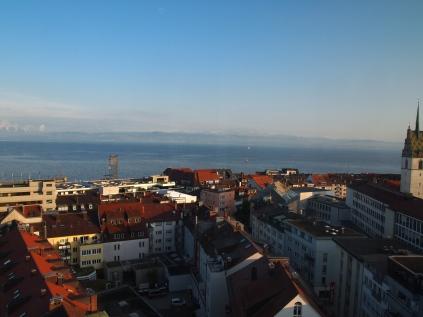 Friedrichshafen from above. Stammtisch